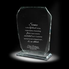 Glass Trophies - Candela Glass Award