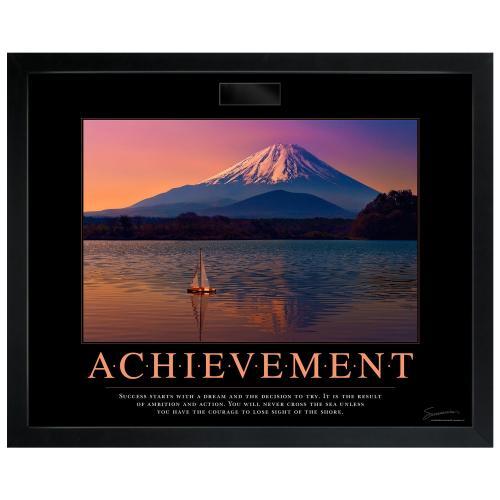 Achievement Sailboat Motivational Poster