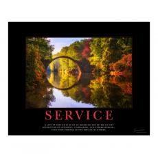 New Products - Service Bridge Motivational Poster