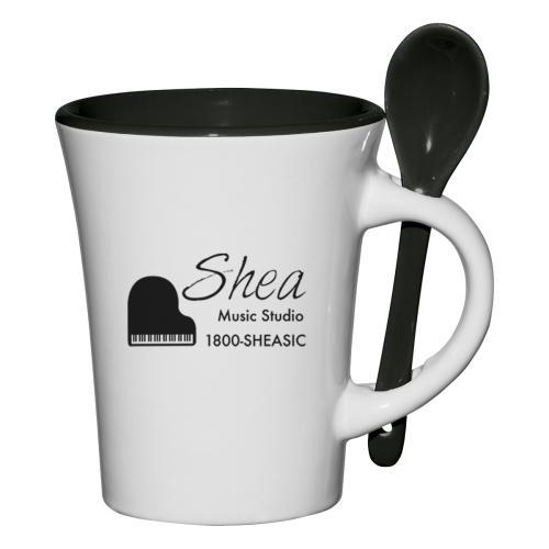 8 Oz. Blanco Spooner Mug