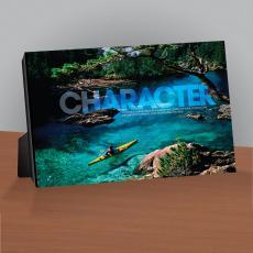 Character Kayaker Infinity Edge Desktop