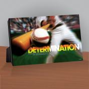 Determination Baseball Infinity Edge Desktop