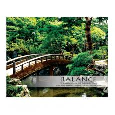 Closeout and Sale Center - Balance Zen Garden Unframed Motivational Poster