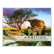 Ambition Tree Unmatted Framed Motivational Poster