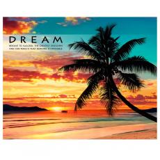 Dream Beach Unframed Motivational Poster