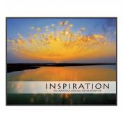 Inspiration Sunburst Unmatted Framed Motivational Poster