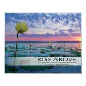 Rise Above Lily Pads Unmatted Framed Motivational Poster