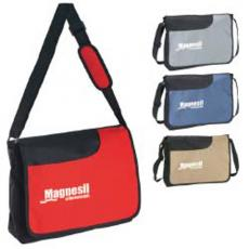 Messenger Bags - Front Pocket Messenger is made of polyester