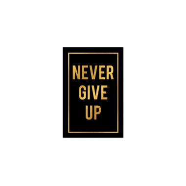 Never Give Up - Gold Series I