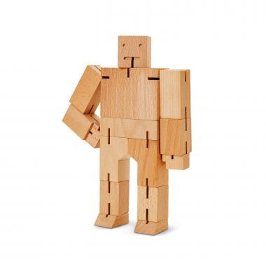 Personalized Wooden Cube Bot