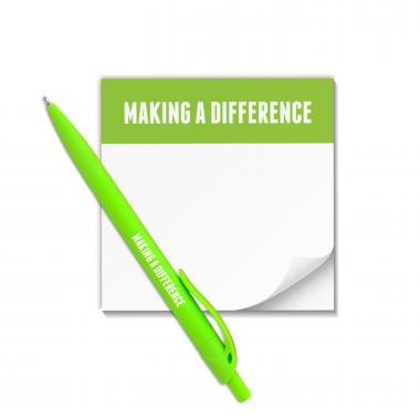 Making a Difference Praise Pad and Pen Set