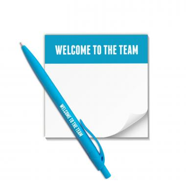 Welcome to the Team Praise Pad and Pen Set