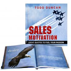 Sales Motivation Gift Book