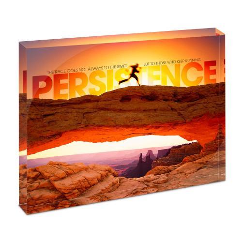 Persistence Runner Infinity Edge Acrylic Desktop