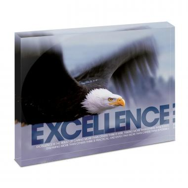 Excellence Eagle Infinity Edge Acrylic Desktop