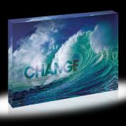 Change Wave Infinity Edge Acrylic Desktop