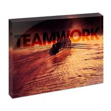Desktop Prints - Teamwork Rowers Infinity Edge Acrylic Desktop
