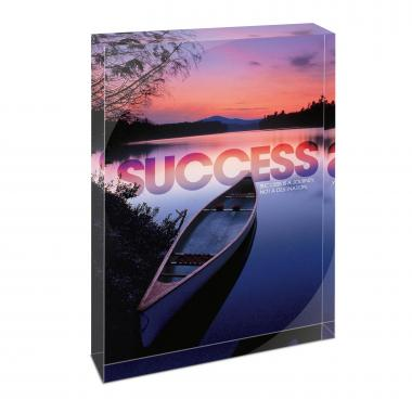 Success Canoe Infinity Edge Acrylic Desktop