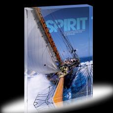 Spirit Sailing Infinity Edge Acrylic Desktop
