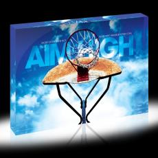 Aim High Hoop Infinity Edge Acrylic Desktop