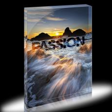 Passion Sea Spray Infinity Edge Acrylic Desktop