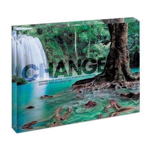 Change Forest Falls Infinity Edge Acrylic Desktop