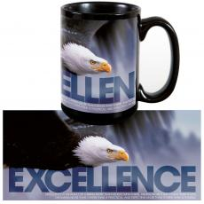 Instant Recognition Drinkware - Excellence Eagle 15oz Ceramic Mug