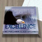 Excellence Eagle Infinity Edge Acrylic Paperweight
