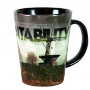 Accountability Windmill Infinity Edge 12oz Ceramic Latte Mug