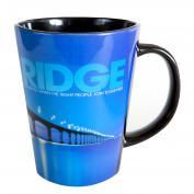 Be The Bridge Infinity Edge 12oz Ceramic Latte Mug