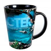 Character Kayaker Infinity Edge 12oz Ceramic Latte Mug