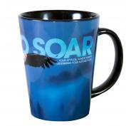 Dare To Soar Infinity Edge 12oz Ceramic Latte Mug