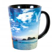Integrity Rock Infinity Edge 12oz Ceramic Latte Mug