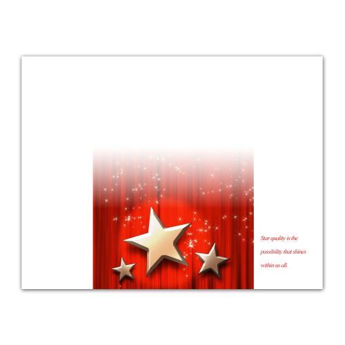 Achievement Star Certificate Paper