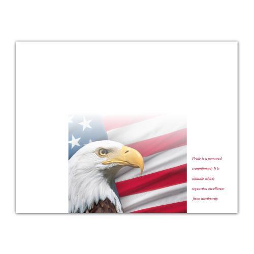 Pride Eagle Certificate Paper