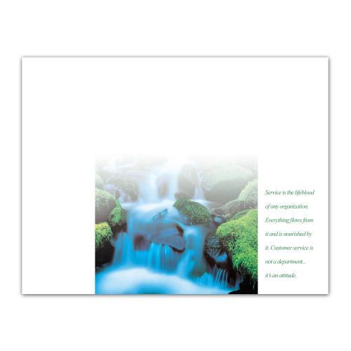 Service Waterfall Certificate Paper