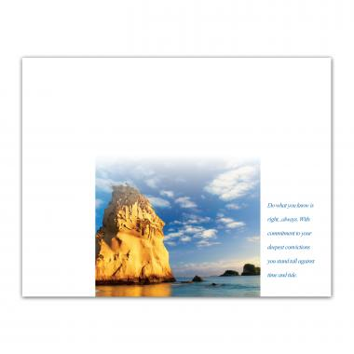 Integrity Rock Certificate Paper