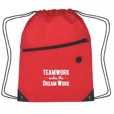 Teamwork Dream Work Cinch Close Backpack