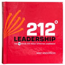 Inspirational Gift Books - 212 Degrees Leadership Gift Book