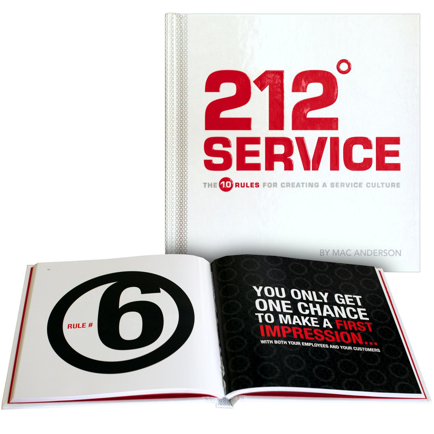 212 Degrees Service Gift Book