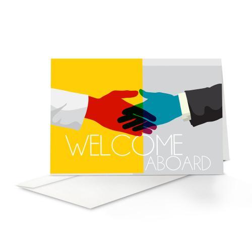 Handshake Welcome Card 25 Pack
