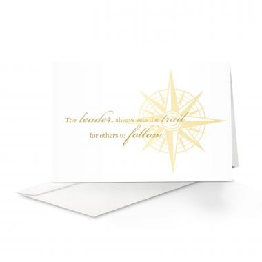 Leadership Compass Greeting Card 25 Pack