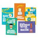 Breakfast Bunch Birthday Card Sampler