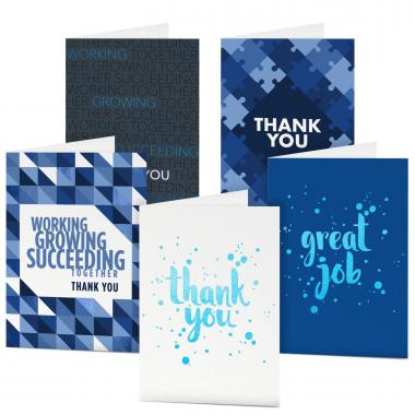 Thank You Card Sampler