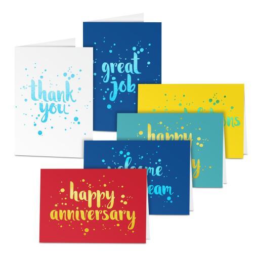 Shimmer Card Sampler