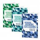 Working Growing Succeeding Card Sampler