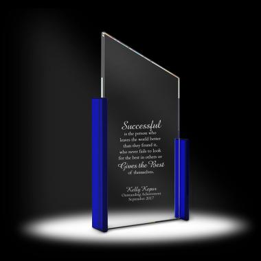 Rise & Exceed Crystal Award