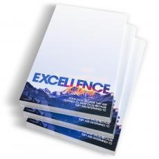 Desktop Instant Recognition - Excellence Mountain Notepads
