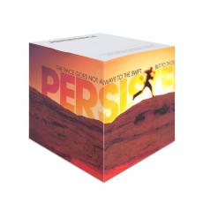 Persistence Runner Self-Stick Note Cube