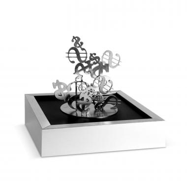 Money Sign Magnetic Sculpture